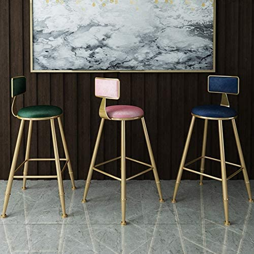 Chaise de salle, Loisirs Chaise Chaise d'appoint Flanelle Coussin Chaise café Cuisine Petit déjeuner Chaise avec dossier