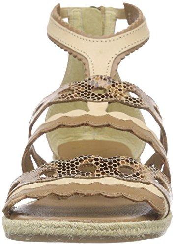 Xyxyx Dames Sandaal Enkelband Beige (tan)