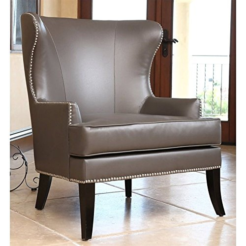 Awe Inspiring Gray Leather Chairs Onthecornerstone Fun Painted Chair Ideas Images Onthecornerstoneorg