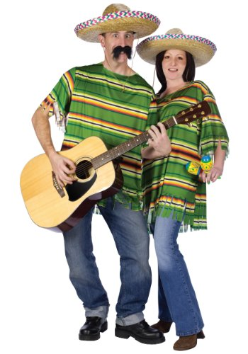 Adult Mexican Serape (Mexican Ladies Costume)