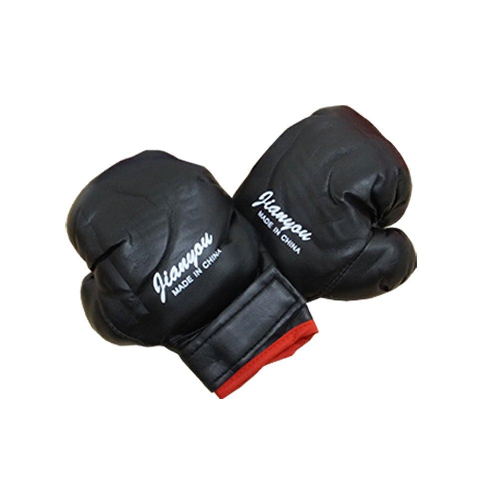 e5d5d795a2406 キッズ/子供用/ボクシンググローブ☆パンチンググローブ☆ (ブラック)キッズグローブ