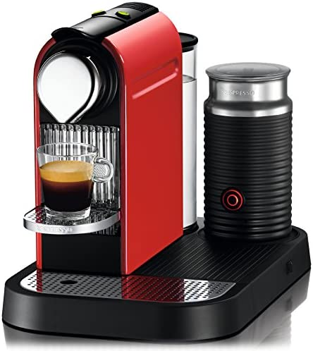 Amazon.com: c121-us-re-ne1 Nespresso Citiz Cafetera de ...
