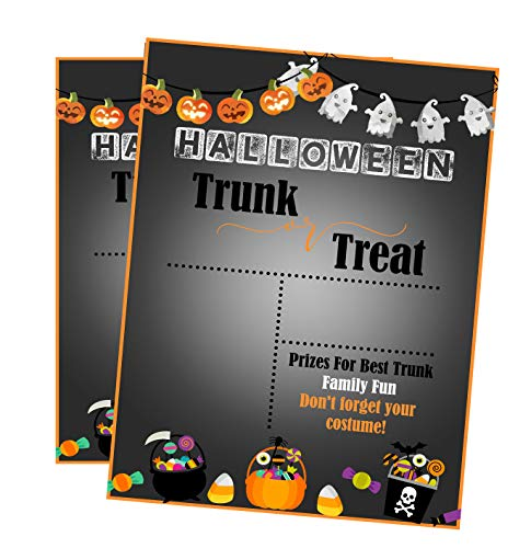 Silly Goose Gifts Halloween Trunk Or Treat ~ Trick Or Treat Candy Party Invitation Family Fun for $<!--$15.99-->