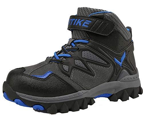 Slip Elaphurus Hiking Climbing Anti Waterproof Blue1 Boots Boot Kids Shoes Platform Flat Walking rwr0x8
