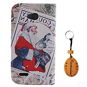 Traitonline Protective Skin PU Leather Wallet Case For LG L80 Cover Shell Pouch With Credit Card Slots