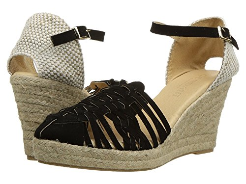 Cordani Women's Emilio Black Suede Wedge