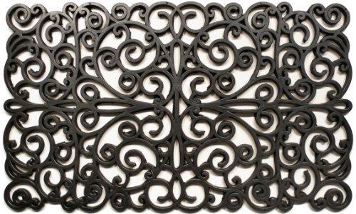 door mat home depot canada rubber walmart cheap amazon more scroll doormat silver patio lawn garden