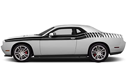 Amazon Com Factorycrafts Dodge Challenger 2011 2018 Gradient Stripe