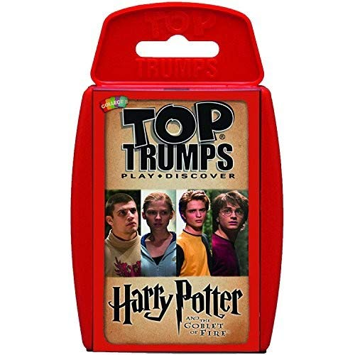 Harry Potter & the Goblet of Fire Top Trumps Card Game