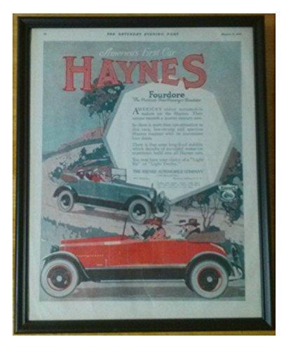 1918 Auto (1918 HAYNES FOURDORE -