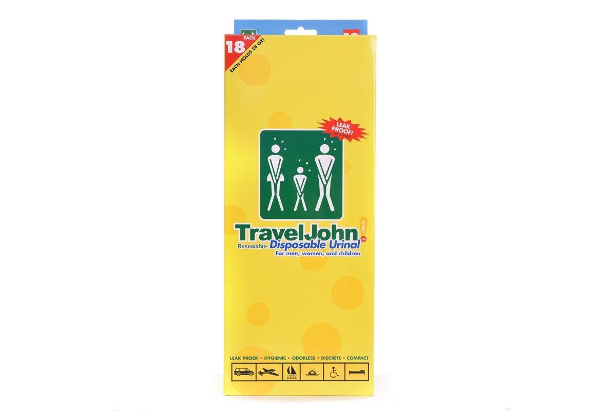 TravelJohn 66892 Disposable Urinal(18 pack)