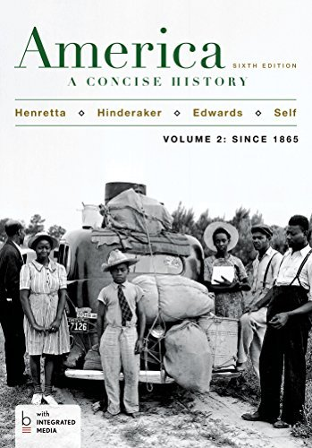 By James A. Henretta America: A Concise History, Volume 2 (Sixth Edition) [Paperback] ebook
