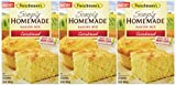 corn bread mixes - Fleischmann's, Simply Homemade® Cornbread Mix, 15oz Box (Pack of 3)