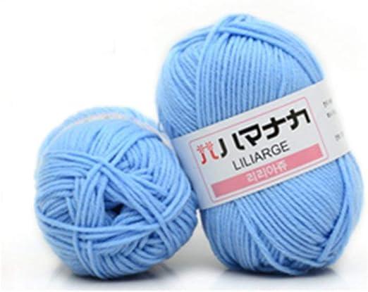 Hilo de Coser Mezclado con Lana de Hilo de algodón Mezclado de 4 ...