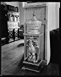 16 x 20 Reprinted Photo of Southern Architectural Virginia House, Mexican Carved Furniture, Richmond, Henrico County, Virginia 1939 Johnston Frances Benjamin 25a