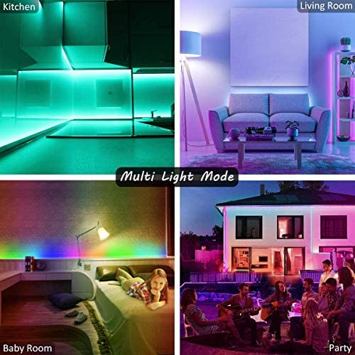 Led Strip Lights 39.4 Feet Smart Led Lights