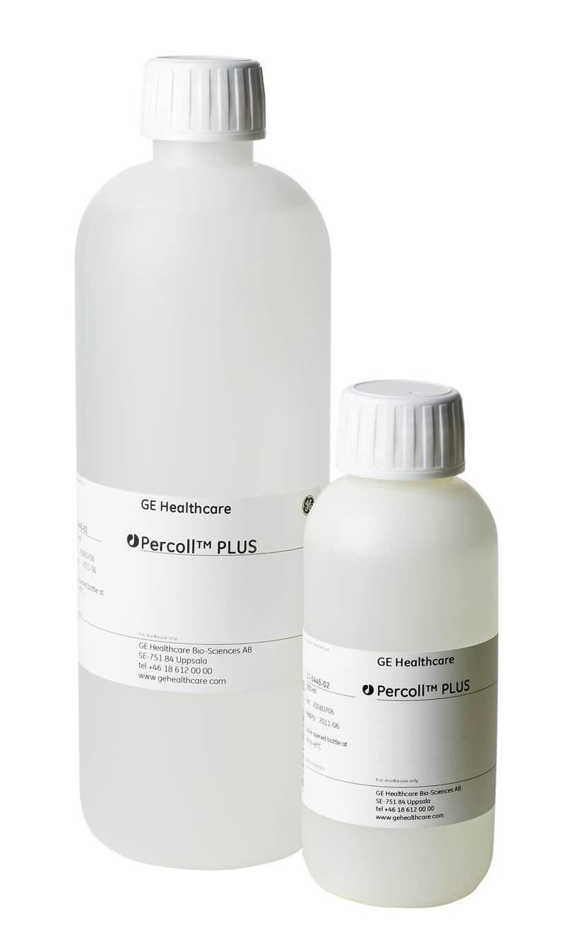 GE Healthcare Life Sciences 17-5445-01 Percoll Plus Cell Separation Liquid Media, 1 L Volume by GE Healthcare Life Sciences