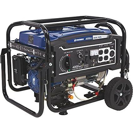 Amazon.com: powerhorse Generador de combustible Dual con ...