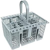 Hotpoint c00257140 Indesit Genuine Dishwasher Cutlery Basket, Grey