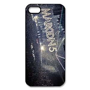 Maroon 5 Custom Printed Design Durable Case Cover for Iphone 5 5S