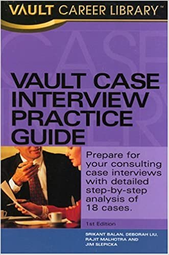 vault career guide to consulting The vault career insider guides are great for getting up to speed in an industry that you don't know a lot about (eg, the vault career launcher: advertising and public relations includes a chapter-length glossary of industry terms) or getting an in-depth perspective on employers in a given industry (eg, see the 532-page guide to the top.