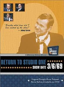 Johnny Carson - The Tonight Show: Return to Studio One, 3/6/69