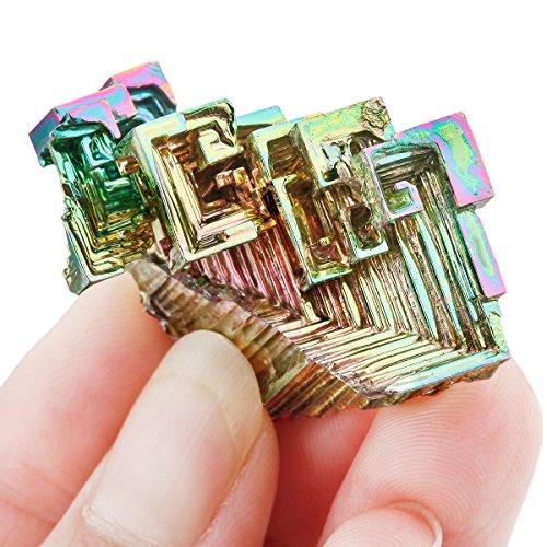 Rockcloud 1 1 5  Bismuth Crystal Healing Crystal Irregular Home Decoration Mineral Specimen