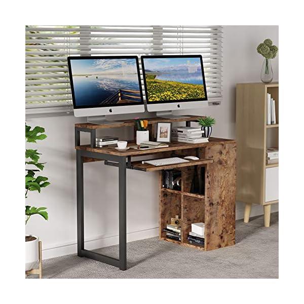 Tribesigns Bureau d'ordinateur Bureau d'étude d'écriture PC Portable Table d'étude d'ordinateur Portable Bureau de…