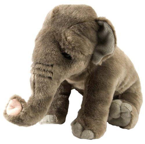 Asian Elephant Animals - Wild Republic Asian Elephant Plush, Stuffed Animal, Plush Toy, Gifts for Kids, Cuddlekins 12 Inches