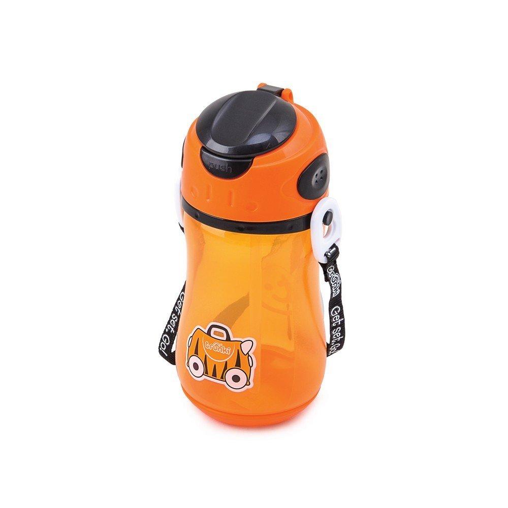 Trunki Trunki Eat Range - Drinks Bottle Tipu Tiger Orange Poche à Eau, 18 cm, 0.4 liters 0298-GB01