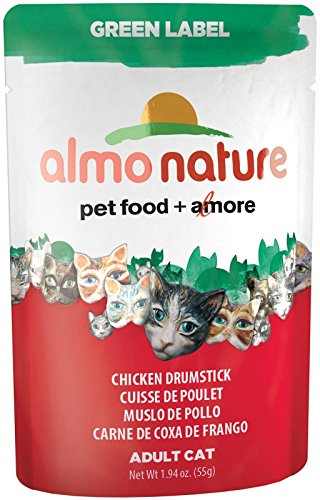 Almo Nature Chicken Drumstick Food , 1.94 oz.