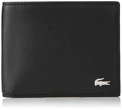 Lacoste Men's S Billfold Cc Holder, black, One Size