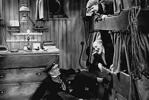 Will Hay and Moore Marriott and Graham Moffatt in Windbag The Sailor 24x18 -