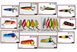 """Lot of 20 New 3"""" Spoon Fishing Lures"""