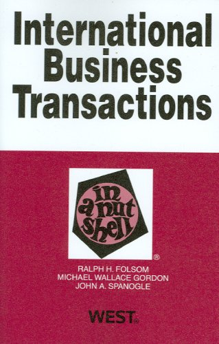 International Business Transactions in a Nutshell (In a Nutshell (West Publishing)) (Nutshell Series)