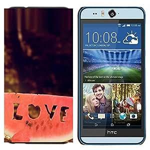 TECHCASE---Cubierta de la caja de protección para la piel dura ** HTC Desire Eye ( M910x ) ** --Naturaleza Hermosa Forrest Verde 107