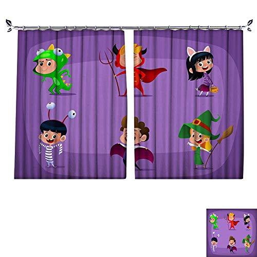 DragonBuildingMaterials Blackout Draperies for Bedroom Group of Kids
