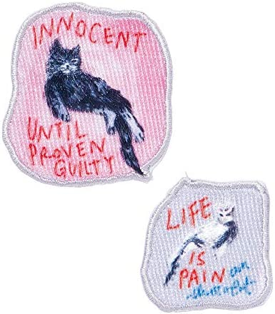 マークス 刺繍ステッカー イノセント ライフ ポール&ジョー ラ・パペトリー PAJ-ST2-01