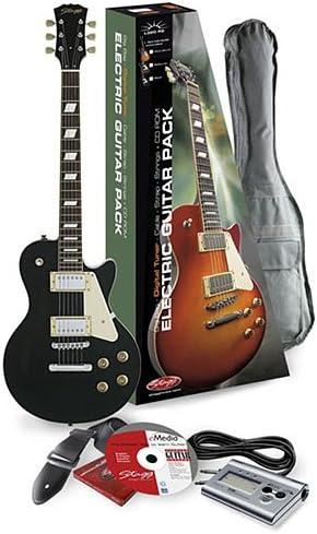 Stagg L320-BK P2 Mochila Guitarra Eléctrica: Amazon.es ...