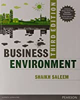 Business Environment, 3rd Edition Front Cover