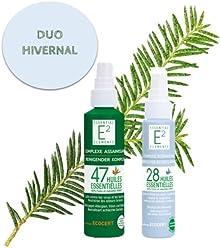 Kit hivernal : Spray Assainissant aux 47 huiles essentielles + Spray Respiratoire aux 28 huiles essentielles (facilite la respiration, renforce les défenses naturelles.)