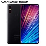 "UMIDIGI F1 Play with 6GB+64GB Memory Android 9.0 48MP+8MP+16MP Cameras 5150mAh 6.3"" FHD+ Global Version Smartphone Dual 4G LTE Cell Phone Unlocked (Black)"