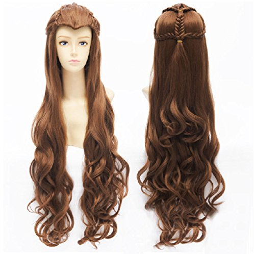 Tauriel Elf Costumes (Anogol Hair Cap+the Hobbit / the Lord of the Rings Film Mirkwood Elf Wig D0050)