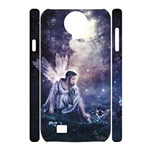 ALICASE Diy Case Night Fairy Cover For Samsung Galaxy S4 i9500 [Pattern-1]
