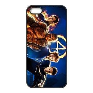 Fantastic Four iPhone 5 5s Cell Phone Case Black J9908495