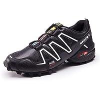 shoe Zapatillas de Bicicleta de Carretera para Hombre y Mujer, Verano Transpirable PU Viaje al Aire Libre Zapatillas de Ciclismo de montaña Zapatillas de Deporte de Senderismo