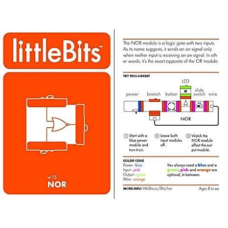 littleBits 650-0085-O Kit de instalaci/ón el/éctrica