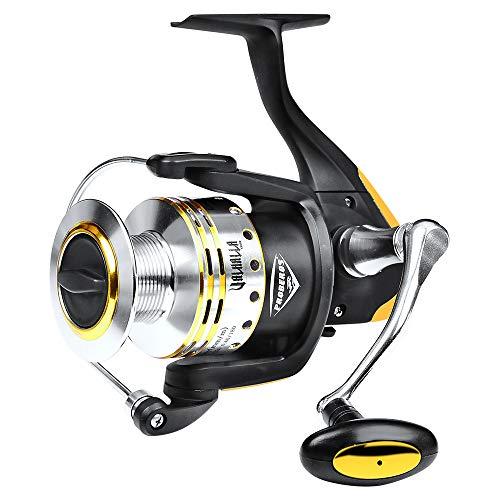 Fishing Reel Spinning,Freshwater Fishing Reel - 39.5 Lb Drag Ultra Lightweight Carved Nylon Reels Affordable Spool ()