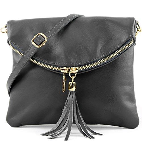 en cuir sac petit modamoda Italy Sac in sac ital de Made d'embrayage d'embrayage cuir xqwR8zg