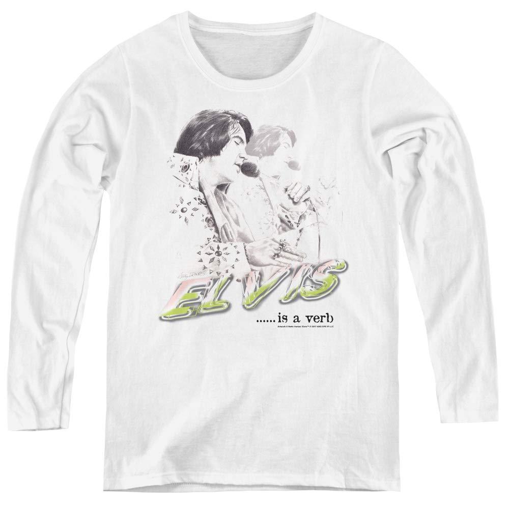 Elvis Presley Elvis Is A Verb Adult For Shirts